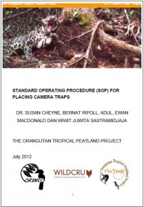 SOP camera traps front cover 2