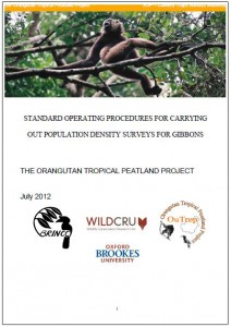 SOP gibbon population density front cover 2