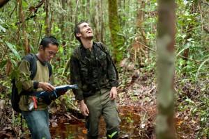 Aman and Nick (4) - Sabangau - Andrew Walmsley - 2012