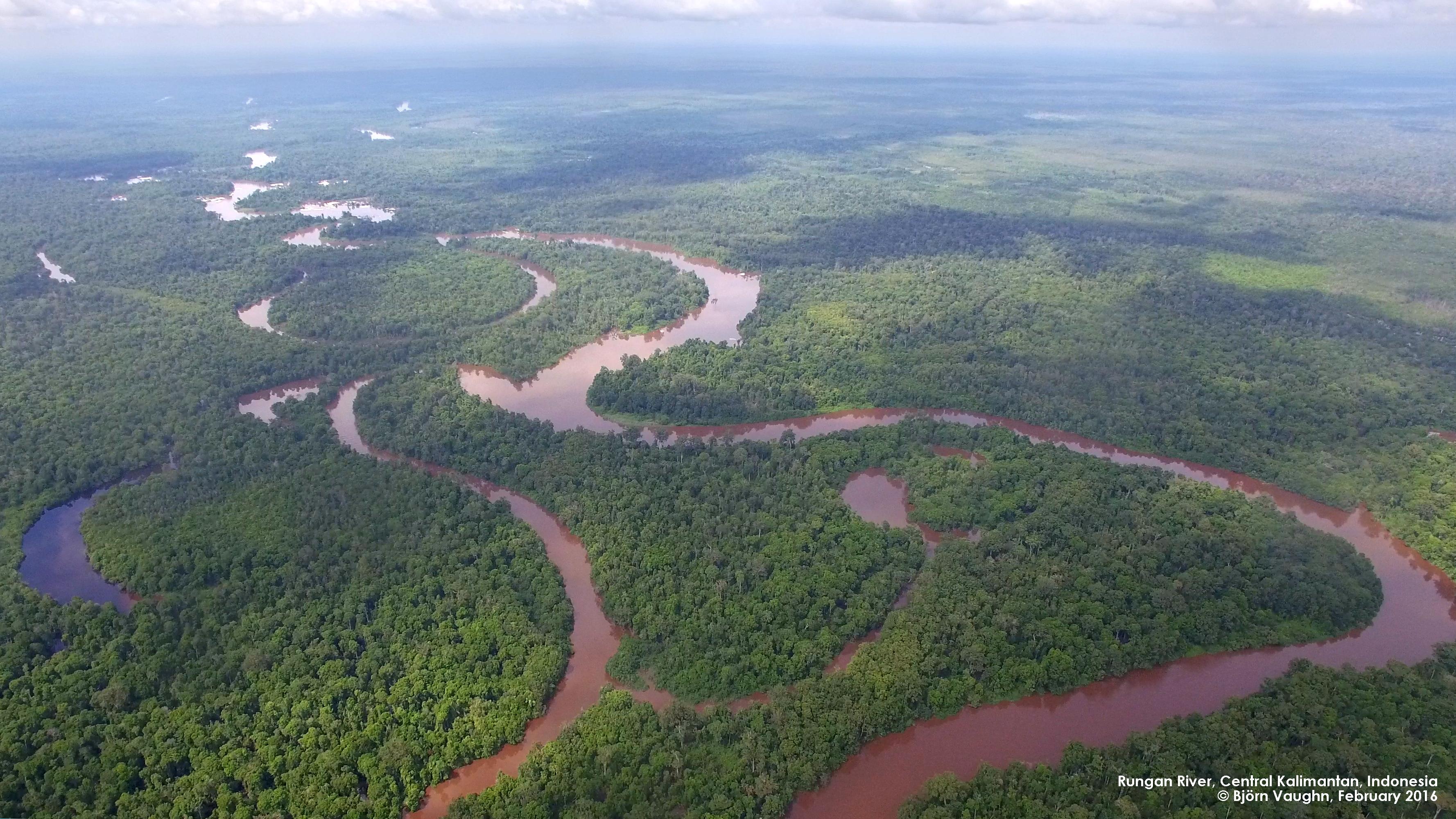 Rungan River landscape