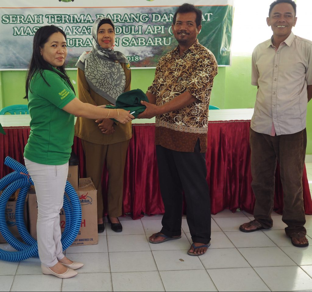 Bnf Handed Over Fire Fighting Equipment To The Community