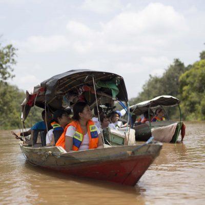 BIYC 2018 orangutan river borneo