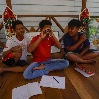 Sabangau Rangers visit to Sabangau Forest and camp